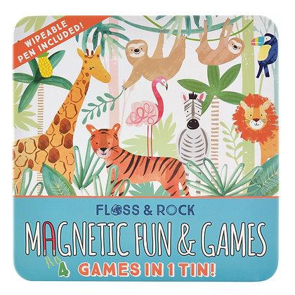 4 Jogos Magnéticos Selva - Floss & Rock