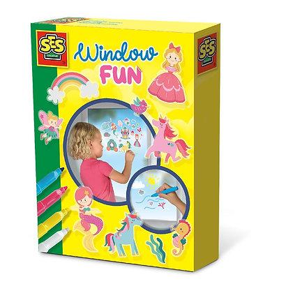 Diversão na janela - Princess world