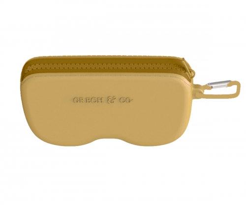 Estojo Silicone Óculos de Sol - Golden - Grech & Co.