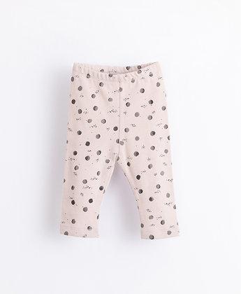 Leggings em algodão orgânico com estampado - Play Up