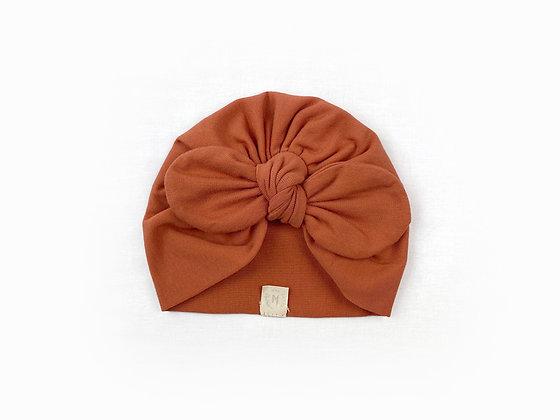 Hibbie turban - Terracota