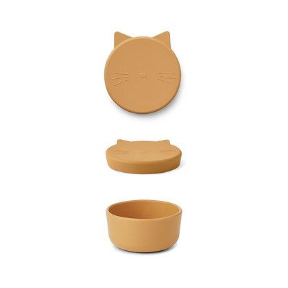 Snack Box - Cornelius Cat yellow mellow