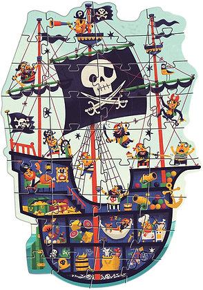 Puzzle Gigante - Navio Pirata - Djeco
