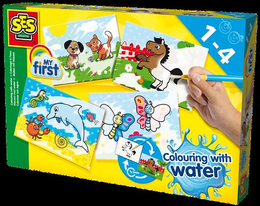 Colorir com água