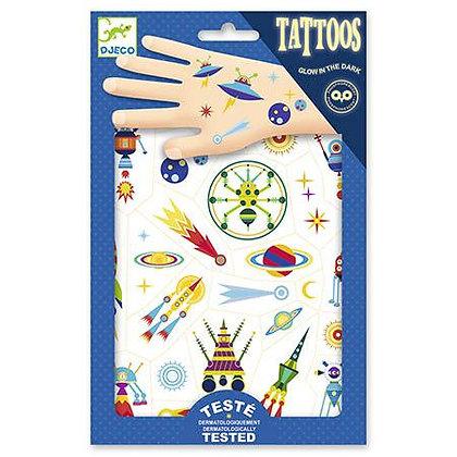 Tatuagens - Odisseia no Espaço - Djeco