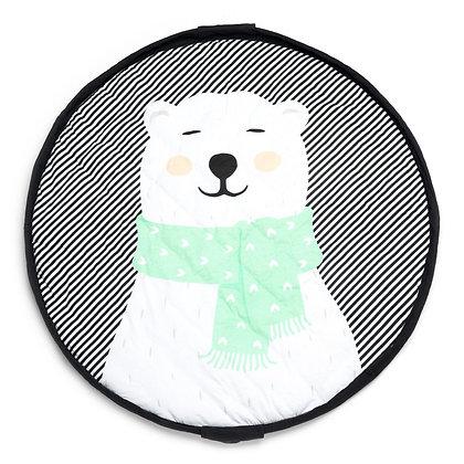 Saco de arrumação  Play&Go Soft Urso Polar