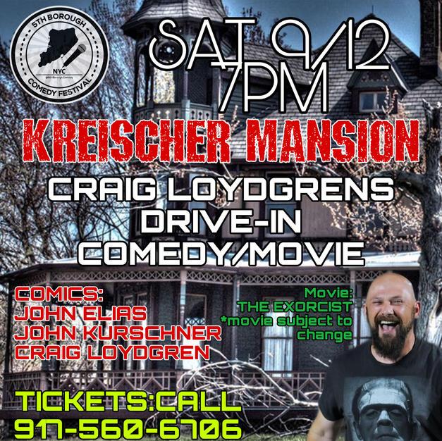 Drive-In at Kreischer Mansion