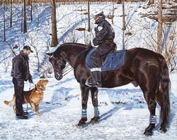 Le chien, le cheval et le lièvre