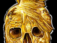 Crâne d'or