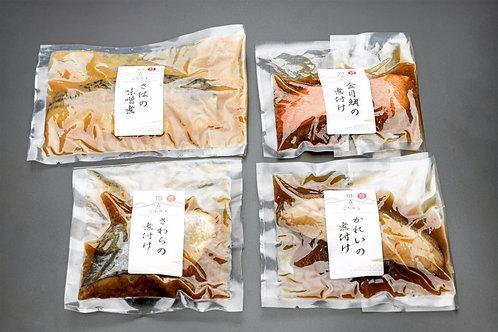田舎のごちそう煮魚4種各2枚(計8枚)