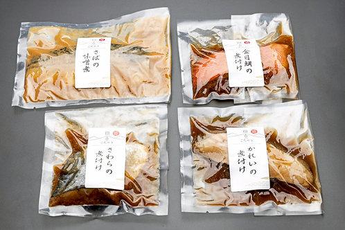 田舎のごちそう煮魚4種セット(計4枚)