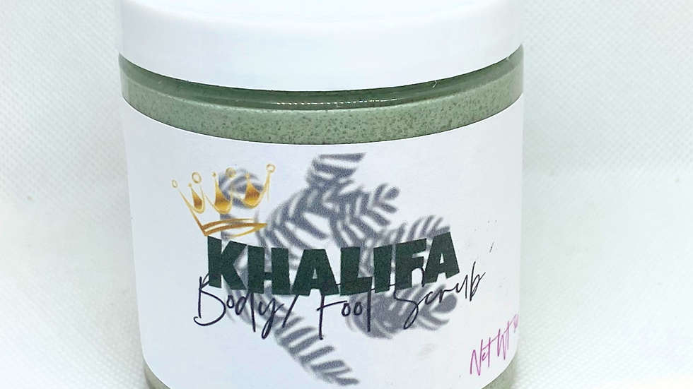 Khalifa Mens Body/Foot Scrub