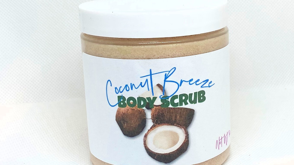 Coconut Breeze Body Scrub