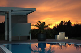 Gösselbauer, goess design group, Design, Garten, Architektur, Licht, Pool, Beleuchtung, Badehaus,