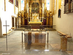 Gösselbauer, goess.design.group., Design, Innenarchitektur, Altar, Ladenbau, shopdesign, Trofaiach, Altarraum, Kirche, ...