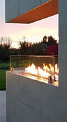 Gösselbauer, goess design group, Design, Garten, Architektur, Licht, Pool, Kamin, Feuer,