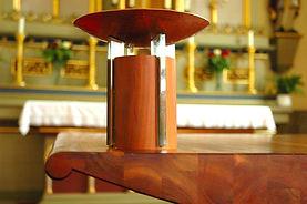 Gösselbauer, goess.design.group., Design, Innenarchitektur, Altar, Ladenbau, shopdesign, Rudersdorf, Kirche, Kerzenständer, ...