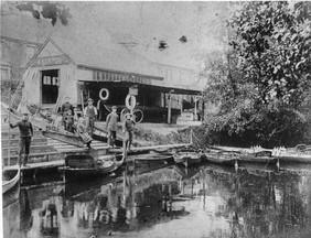 Norton's Boatyard pre WW1