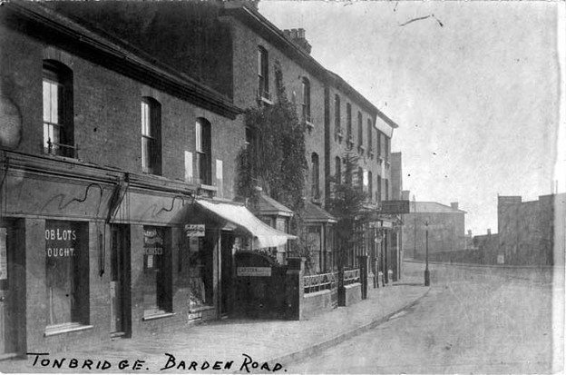Barden road shops, before 1915