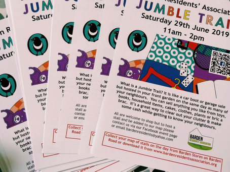 Barden Jumble Trail posters