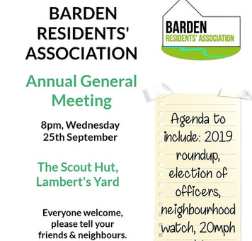 AGM this Wednesday!