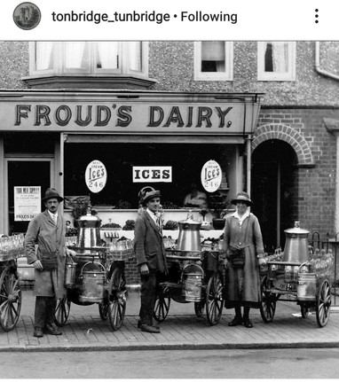 Froud's Dairy in Barden Road