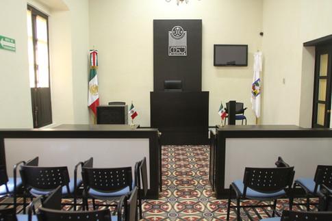 Sala Juez José L. Pecina