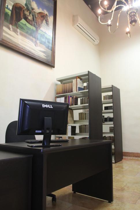 biblioteca de derecho