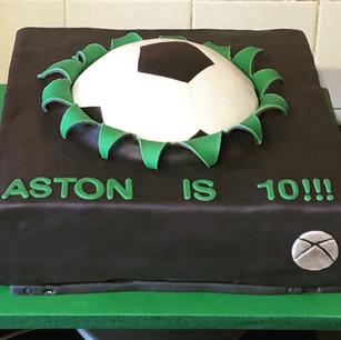 X Box/Football cake
