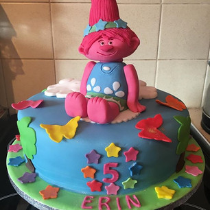 Trolls Style cake