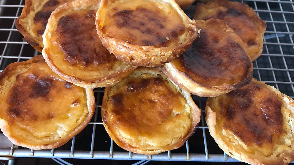 Pastéis de nata, Portuguese Custard tarts