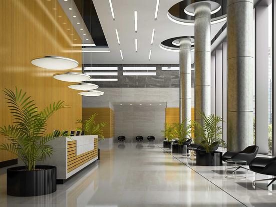 Plante d'intérieur dans un bureau