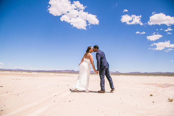 Gelisa & Othello Wedding- Dry Lake- LV (