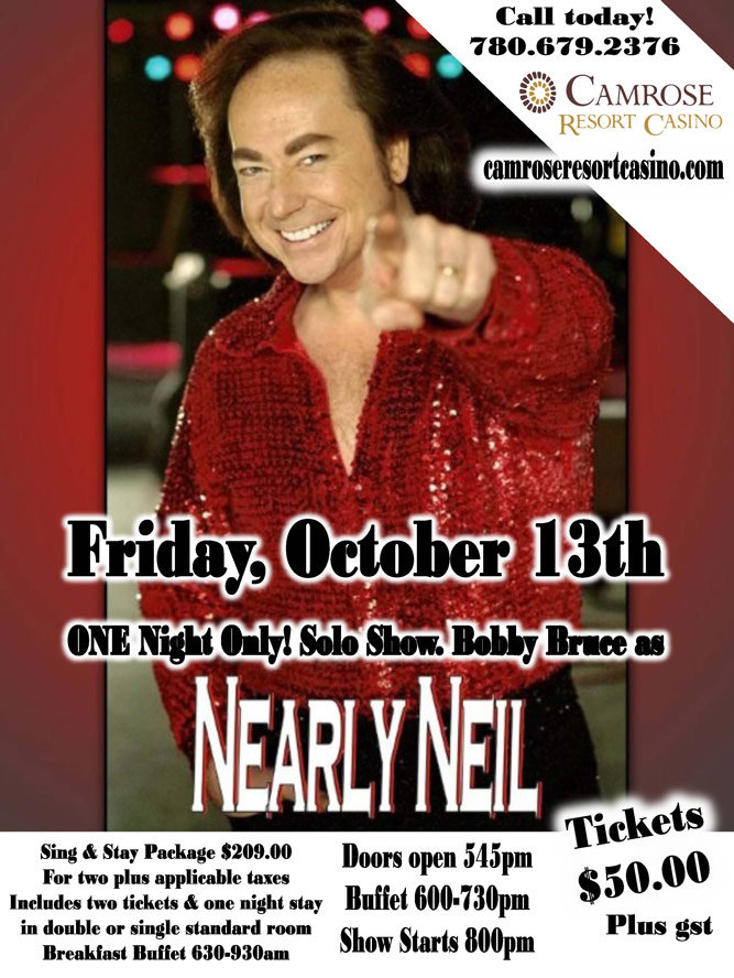 Nearly Neil Solo in Camrose