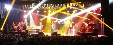 Nearly Neil and the Aussie Band with 4 Piece String Section at Twin Towns, Tweed Heads, QLD, Australia