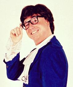Bobby Bruce as Austin for the Shagadelic Swingers