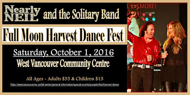 West Van Full Moon Harvest Dance with Nearly Neil
