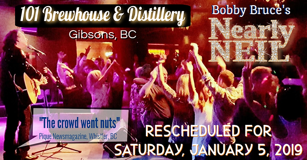 Bobby Bruce as Neary Neil at the 101 Brewhouse & Distillery