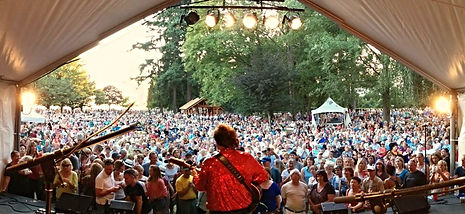 Nearly Neil and the Solitary Band at the Harmony Arts Festival, West Vancouver, BC, Canada
