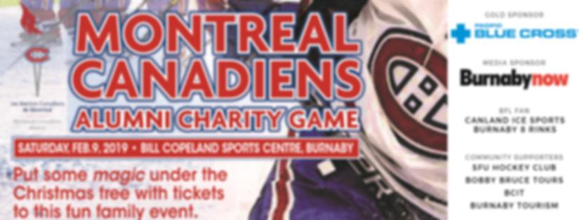 Montreal Canadiens Alumni Charity Game