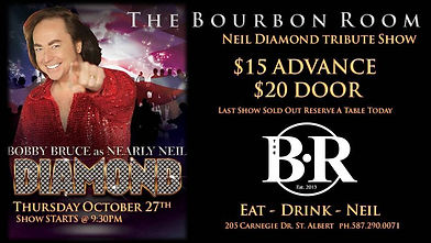 Nearly Neil at the Bourbon Room