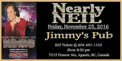 Nearly Neil at Jimmy's Pub, Agassiz, BC