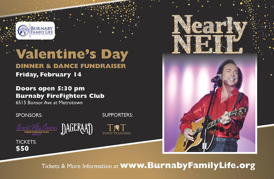 Burnaby Family Life Valentine's Poster