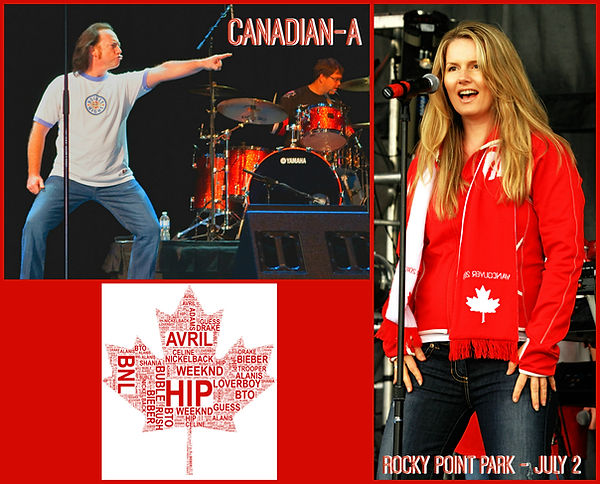Canadian-A Bobby Bruce rocking Canada's Greatest Songs