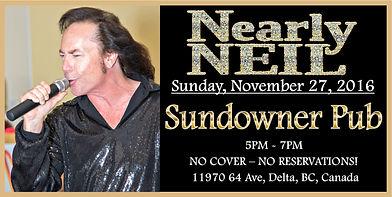 Nearly Neil at the Sundowner Pub