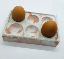 Concrete Egg Holder