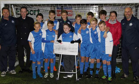 Ormer FC Support Anthony McMahon