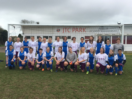 Ormer Ladies On Song Against Jersey Wanderers