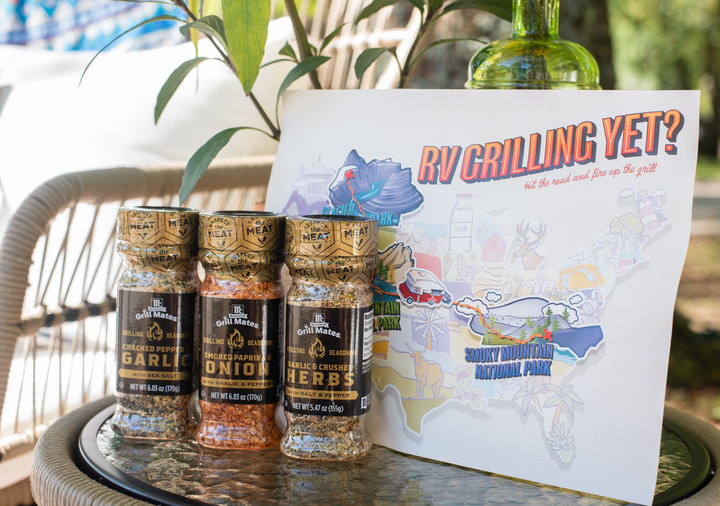 With the 'RV Grilling Yet?' campsite pop-ups, McCormick debuted its new seasoning blends, which are made especially for grilling.