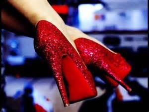 ruby red heels